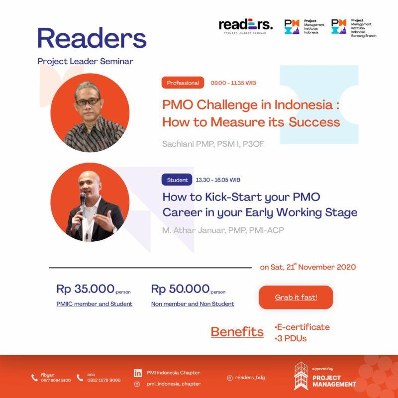PMIIC BB Reader - Flyer